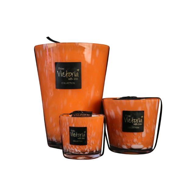 limited edition orange victoria candle