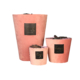 pink velvet candle